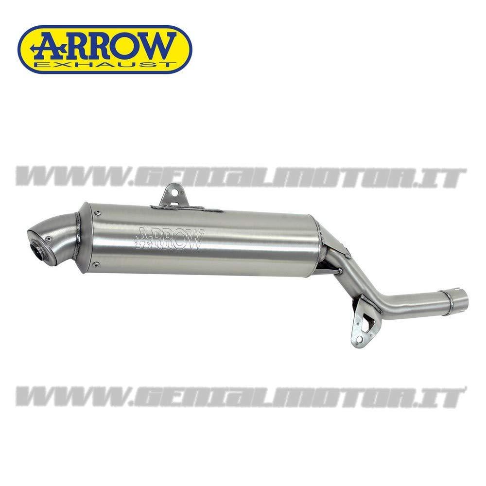 72608PD Auspuff Arrow Enduro 4T Stahl Xt 600 Tenere 1986  1992