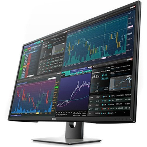 Dell P4317Q 4K with 3840X2160 Resolution LED Monitor, Black/Silver, 43″