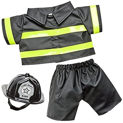 20e81cc0198 Image Unavailable. Image not available for. Color  Build A Bear Workshop  Firefighter Costume ...