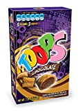 Toops is the only filled cereal/snack that comes with a delicious filling of Chocolate.