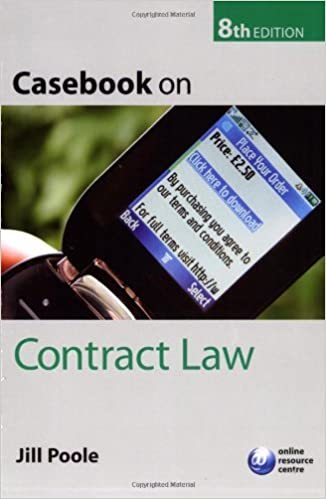 Casebook on Contract Law by Jill Poole (2006-07-27)