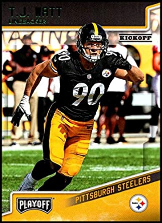 2018 Panini Playoff Kickoff  169 T.J. Watt NM-MT Pittsburgh Steelers  Official NFL Football ce027af90