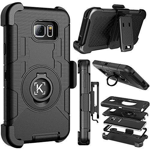 Galaxy Note 5 Case, ENGIVE Dual Layer Hybrid Armor Full Body