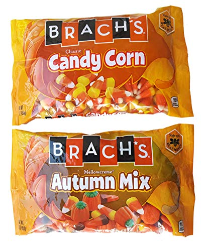 Brach's Candy Cone and Autumn Mix- Bundle of 2 packs (16 Oz/pack) for $<!--$11.98-->