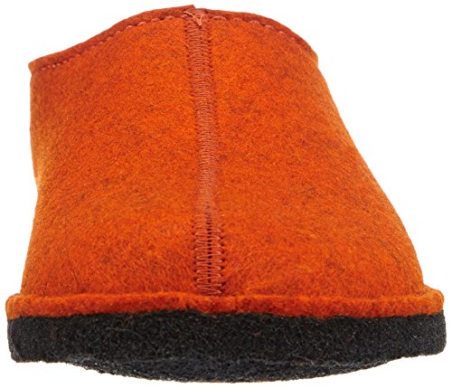 Haflinger Rost 243 Hausschuhe Flache Orange Smily Damen rr4fZqwPp