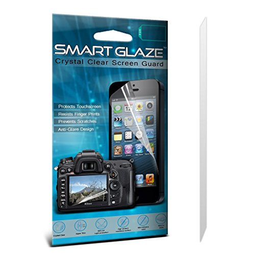 ONX3® SmartGlaze LG GM360 SP Case Custom Made Crystal Clear Premium LCD Screen Protectors Packs With Polishing Cloth & Application Card