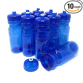 Amazon.com: CSBD botellas de agua en blanco de 24 onzas, sin ...
