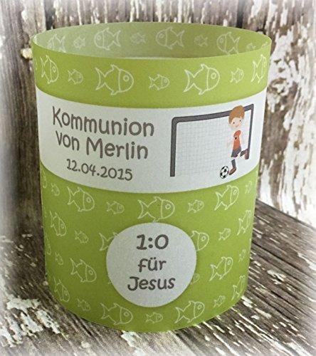 4er Set Tischlicht Tischlichter Kommunion Konfirmation