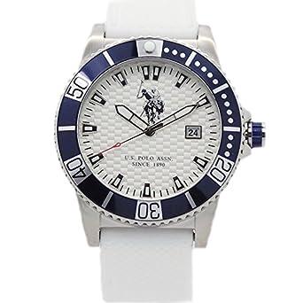 Reloj U.S. Polo Assn. Aspen Hombre Silicona Total White usp4390hw ...