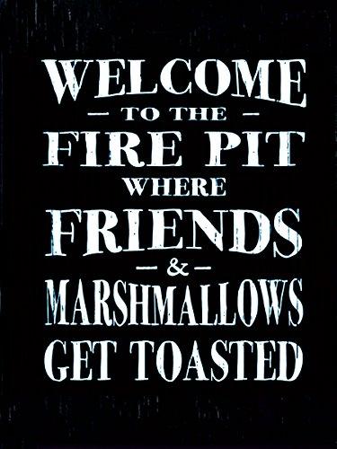 Firepit Sign -