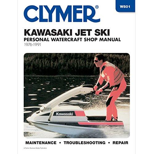 Clymer Manuals - Kawasaki Jet Ski Sport Manual W801