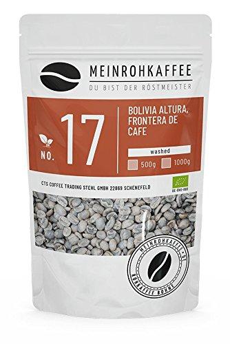 Rohkaffee aus Bolivien. Altura Cafe de Frontera. Gewaschene Aufbereitung