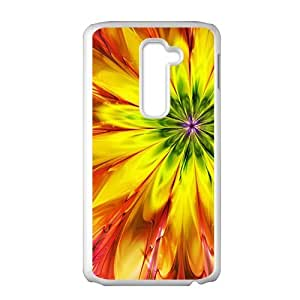 Aaesthetic orange flower fashion phone case for LG G2 BY RANDLE FRICK by heywan