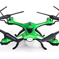 lifepot JJRC H31 Drones with HD/Wifi Camera Remote Control Waterproof Lightweight Airframe 2.4G 6-Axis 4CH RC Quadcopter Support Night Flight (Green with 2.0MP HD Camera)