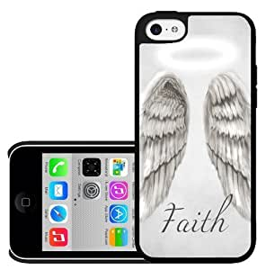 Faith Angel Wings iPhone 5c Hard Case hjbrhga1544