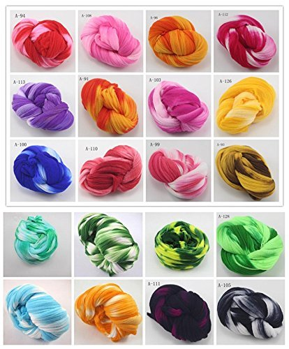 12pcs/lot 2.5m Mixed Colors Nylon Flower Stocking Making Accessory Handmade Diy Crafts (Mixed colors 2)
