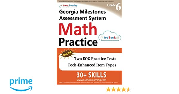 Georgia Milestones Assessment System Test Prep: 6th Grade Math ...