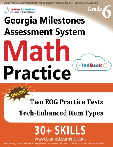 Georgia Milestones Assessment System Test Prep: 6th Grade Math ...