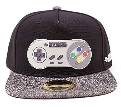 Nintendo Baseball Cap Super Nintendo Controller Rubber Patch Official Snapback by Nintendo Merch
