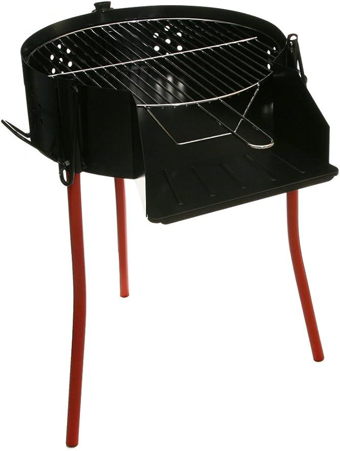 GARCIMA 5021150 Barbacoa Rustica Multiusos Ø 50 cm. Valida para Carbon, Leña y Paelleros
