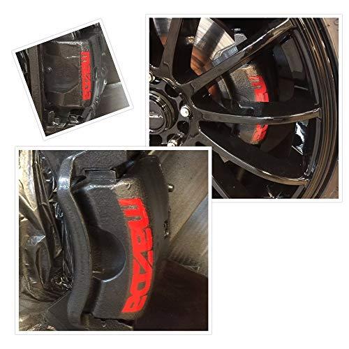 8 pc Set Mazda 3 6 Cx5 Rx8 Miata Brake Caliper Vinyl Sticker Decal Logo (Iii Brake Caliper)