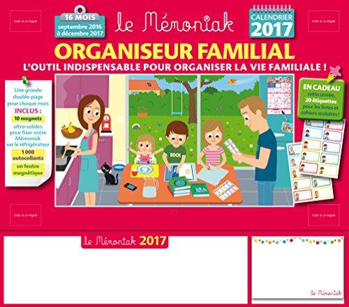 Organiseur familial Mémoniak 2016-2017 PDF