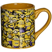Silver Buffalo DM0132 Despicable Me Cluttered Minions Ceramic Mug, 14-Ounce, Yellow