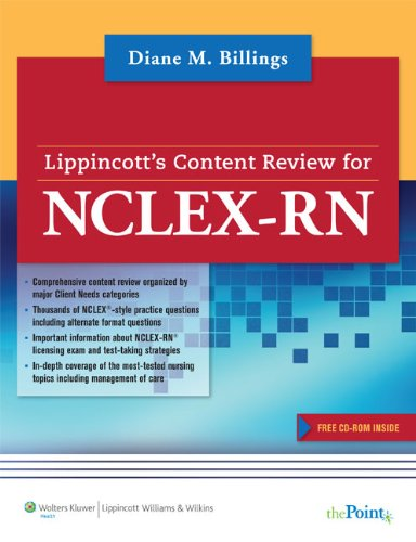 Lippincott Content Review for NCLEX-RN® (Lippincott's Content Review for NCLEX-RN)