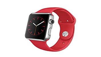 "Apple Watch 1.32"" OLED Acero Inoxidable Reloj Inteligente - Relojes Inteligentes (3,35"