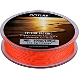 Goture 8 Strands Braided Dacron Fly Fishing Line Backing for Trout Bass Pike in the Saltwater Freshwater 30lb 109yd (30lb Orange) Review
