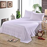 BigFamily Bedsheet Bed Bedclothe Bedspread Polyester Room Furniture Flat Single Beding