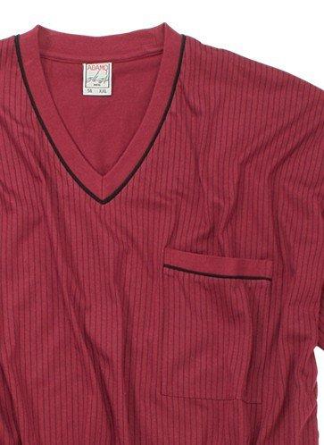 Xxl Adamo Pyjama Bordeaux Court Fashion 55pRrqB