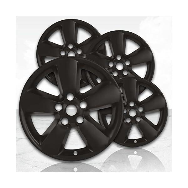 Upgrade-Your-Auto-20-Matte-Black-Wheel-Skins-Set-of-4-for-2013-2017-Dodge-RAM-1500-2495