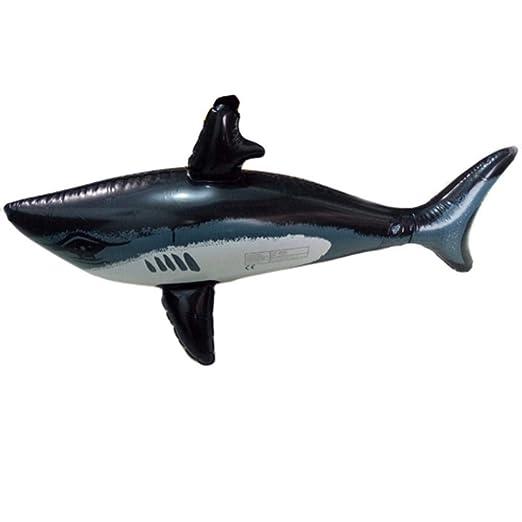 Jiang Hui Inflable tiburón Juguetes Inflable tiburón Piscina ...