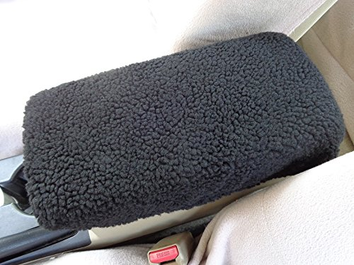 - FITS Kia Optima 2015 Auto Armrest Covers For Center Console Lid (Center Console Cover)-Faux Sherpa Sheepskin Fabric will Protect & Renew Worn Out Consoles