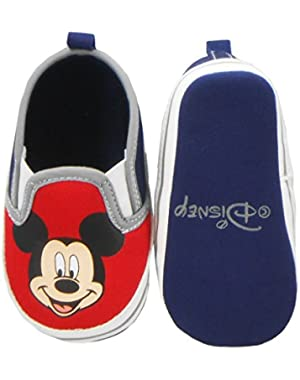 Newborn/Infants Boys Mickey Mouse Slip-On