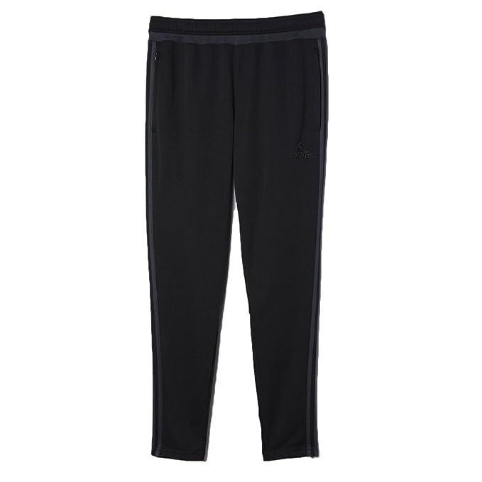 bb8c5fd78b5d6 Adidas Men's Soccer Tiro 15 Training Pants Black/Grey ac2958 (Size ...