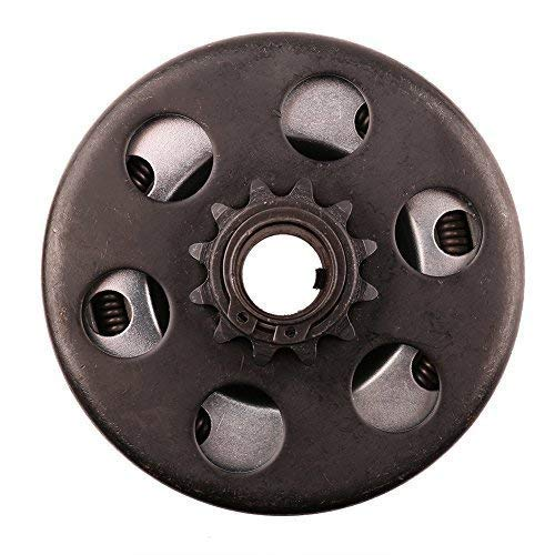 Go Kart Clutch 3/4 Bore 12T for 35 Chain, Up to 6.5 HP, Perfect for Go Kart, Minibike and Fun Kart Engine 3/4 - Big Engine Bore