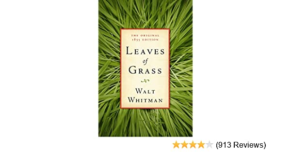 leaves of grass the original 1855 edition