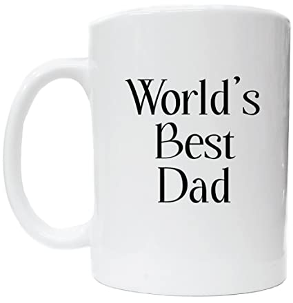amazon com awesome graphics worlds best dad white ceramic coffee