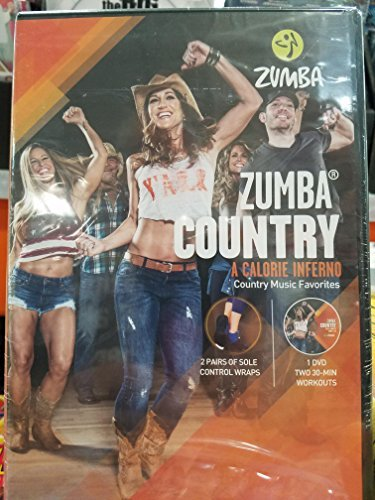 Zumba Country DVD - Cardio Exercise Chart