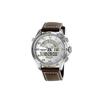 5f8b3149c7a Image Unavailable. Image not available for. Color  Hamilton Khaki Aviation Flight  Timer Quartz Men s Quartz Watch H64514551