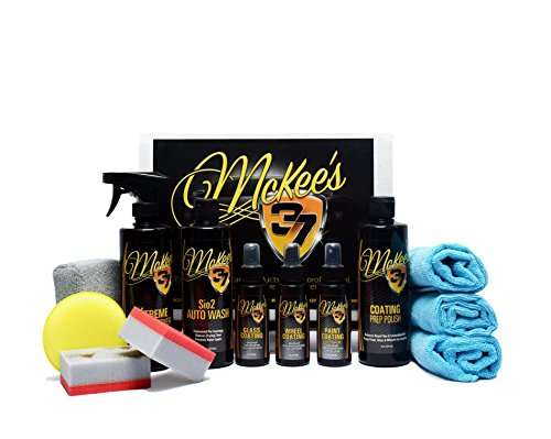 McKee's 37 Deluxe Paint, Wheel, Glass Coating Kit (13-Piece)