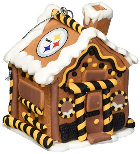 Pittsburgh Steelers Gingerbread House Ornament by FOCO