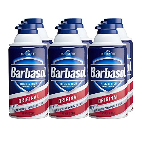 Barbasol Original Thick and Rich Shaving Cream for Men, 10 O