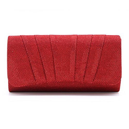 hombro mujer al small Red Bolso para Damara OwP76qx
