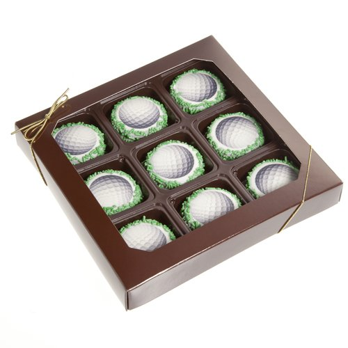 Father's Day Chocolate Oreo Cookies Gift Box of 9 (Golf)