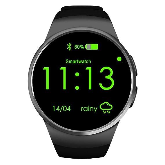 Amazon.com: KW18 Bluetooth Wrist SIM-Card Call Smart Watch ...