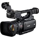Canon XF100 Professional Camcorder with 10x HD Video lens, Compact Flash (CF) Recording (Renewed)
