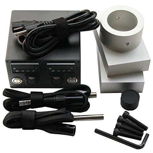 Rosin Press, Colori 3x5'' Rosin Press Kit 6061 Aluminium Plates Heating Rod and Controller by Colori